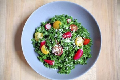 Raw Kale Salad Raw Kale Salad.