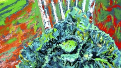 """Savoy Cabbage"" by David Lesako ""Savoy Cabbage"" by David Lesako."