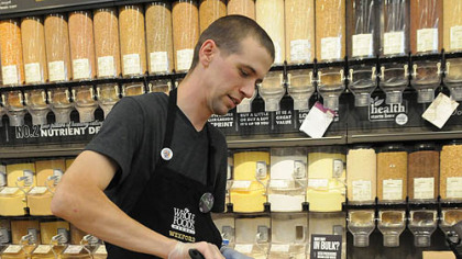 Seth Morrison Cooking coach Seth Morrison of Whole Foods Market.