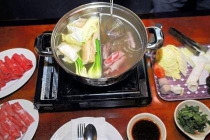 Shabu shabu Shabu shabu prepared at Sun Penang on Forbes Avenue in Squirrel Hill is a delightful dish for sharing.