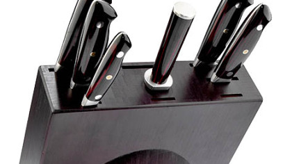Shun Bob Kramer knives Shun knives are the gold standard for professional cooks. These are Shun Bob Kramer knives.