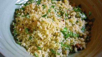 """Spring Couscous Spring Couscous from """"Plenty"""" by Diana Henry."""
