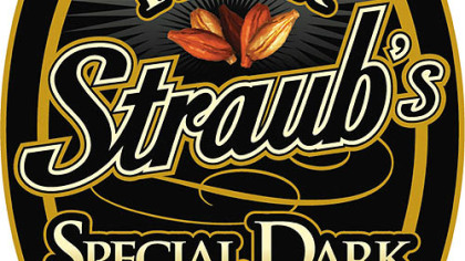 Straub's new amber beer label Left, Straub's new amber beer is named after the company's founder, Peter Straub.