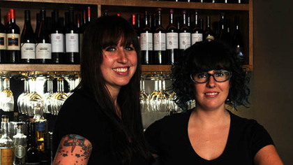 Summer Voelker and Maggie Meskey Co-head bartenders Summer Voelker and Maggie Meskey.