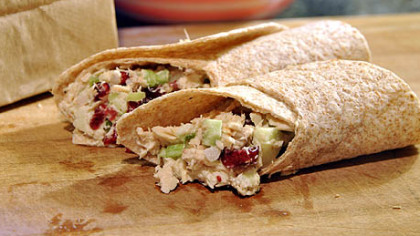 Super Crunch Super Crunch Apple-Cranberry Tuna Wrap