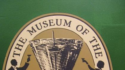 The Museum of the American Cocktail logo. The logo of The Museum of the American Cocktail in New Orleans.