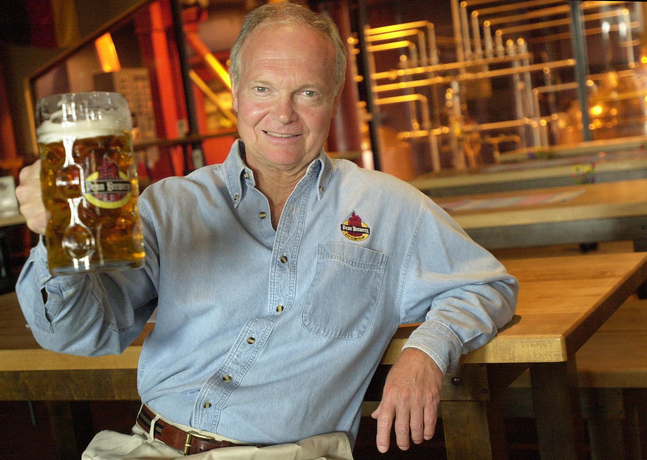 Tom Pastorius Penn Brewery founder Tom Pastorius.