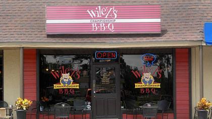 Wiley's Championship BBQ Wiley's Championship BBQ on Tybee, Island, GA.