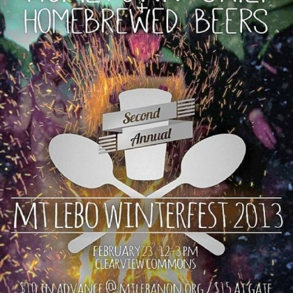 Winterfest 2013 This is the poster for Mt. Lebanon's Winterfest 2013.