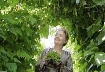 Alice Waters Alice Waters, the grande dame of the local food movement, is seen in her garden in Bolinas, Calif., earlier this month.