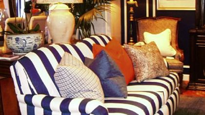 Blue And White Are Classic Colors For Furniture