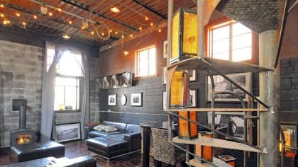 Braddock mayor turns warehouse into home pittsburgh post - Warehouse turned into home ...