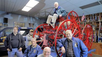 Port vue fire company marks 100 years pittsburgh post for Porte vue 60 feuilles