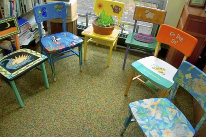 Leftover Chairs Redecorated Will Raise Money For Mt