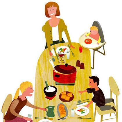 Families Who Eat Together Are Better In A Number Of Ways