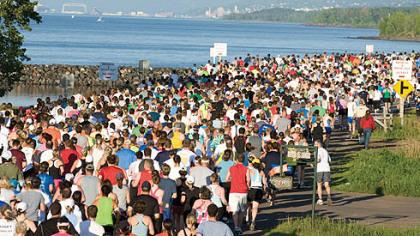 2011+Grandma's+... Grandma's Marathon Course Map