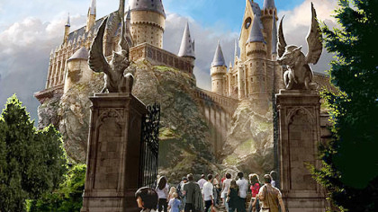 Universal Disney Theme Parks Try For Some New Magic