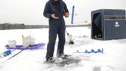 Five questions ron donlan on ice fishing pittsburgh for Lake wilhelm fishing