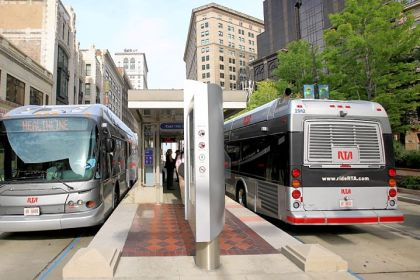 Downtown Pittsburgh Oakland Rapid Bus Route Urged