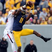 West Virginia wide receiver Kevin White could be the first taken of a strong class at his position.