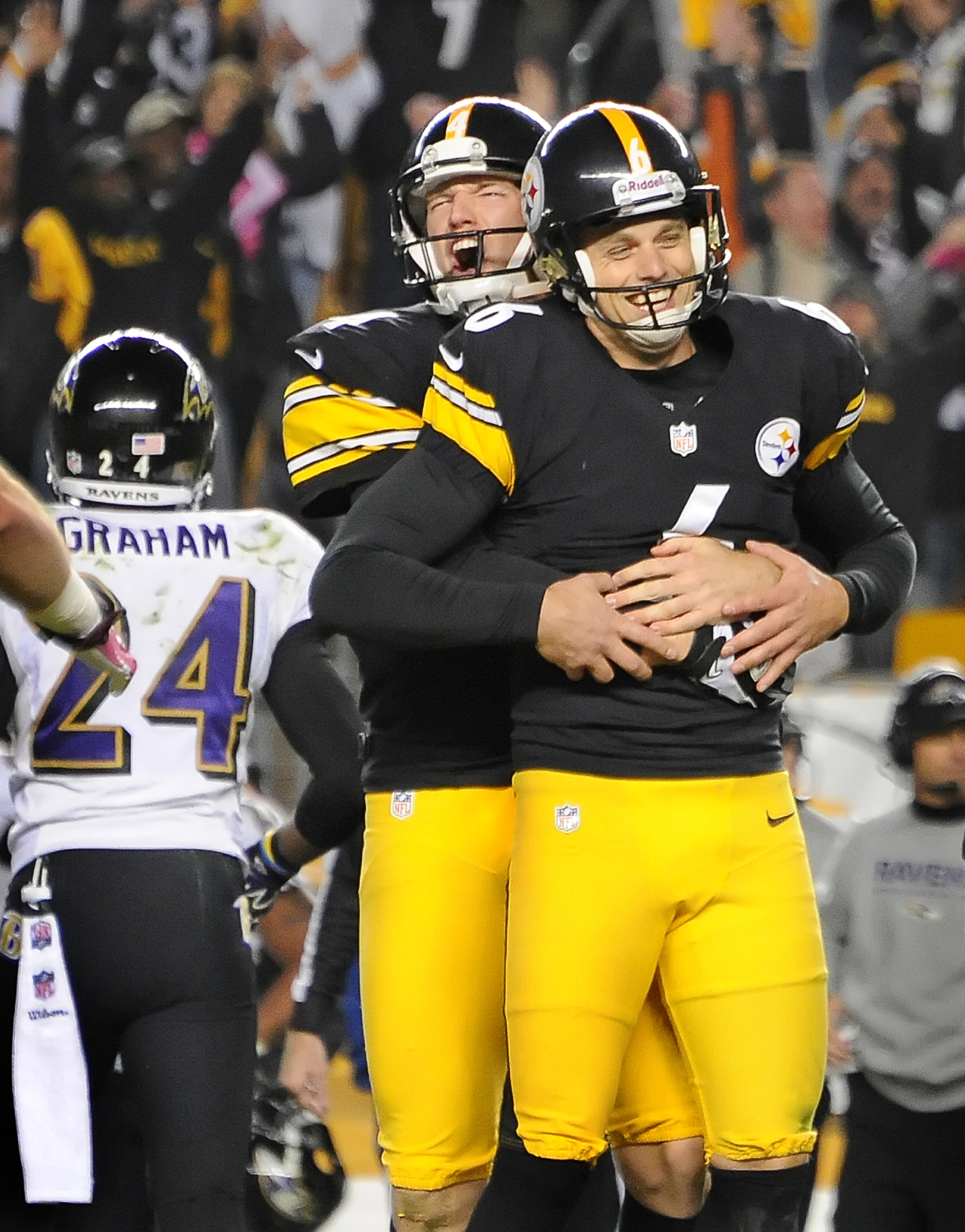 Steelers get a kick out of Suisham