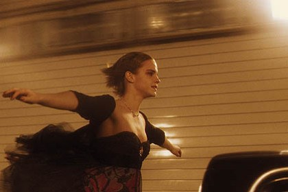 "3030 films Emma Watson -- in the Fort Pitt Tunnel -- in the movie ""The Perks of Being a Wallflower."""