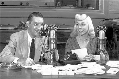"Ed and Wendy King Ed and Wendy King, hosts of KDKA's ""Party Line,"" in 1953."