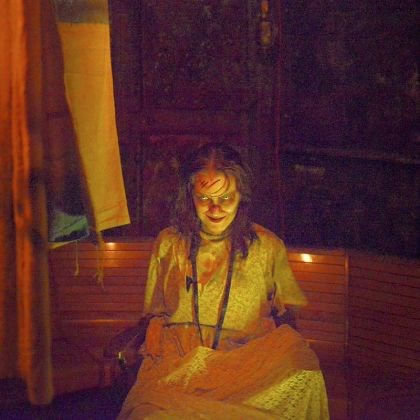 "Jennifer Dallas, 32, of Dormont, is ""The Possessed"" Jennifer Dallas, 32, of Dormont, is ""The Possessed"" at ScareHouse in Etna. ""Acting at ScareHouse is like jumping in the deep end of the improv pool,"" she said."
