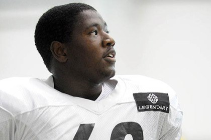 Kelvin Beachum on the line Kelvin Beachum is the Steelers' emergency left tackle, but he could have a long future at the position.