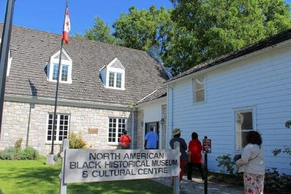 The Black Historical Museum of Canada The Black Historical Museum of Canada and its church are two old sites testifying to the importance of the Underground Railroad and early black settlement of Canada.