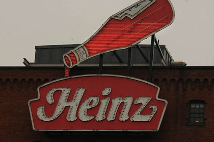 "The ""Heinz"" ketchup neon The historic Pittsburgh company was sold for more than $28 billion earlier this year to a joint venture of 3G Capital and Berkshire Hathaway."