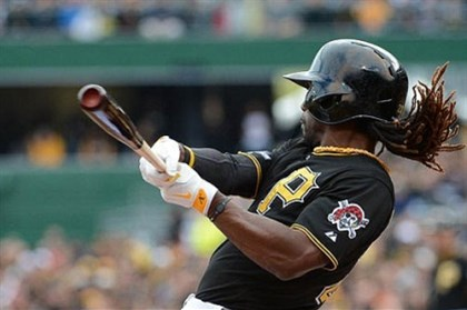 mccutchen National League MVP candidate Andrew McCutchen.
