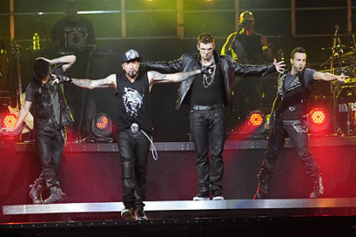 Backstreet Boys Members of The Backstreet Boys -- Brian Littrell, A.J. McLean, Nick Carter and Howie Dorough -- return to Pittsburgh in December.