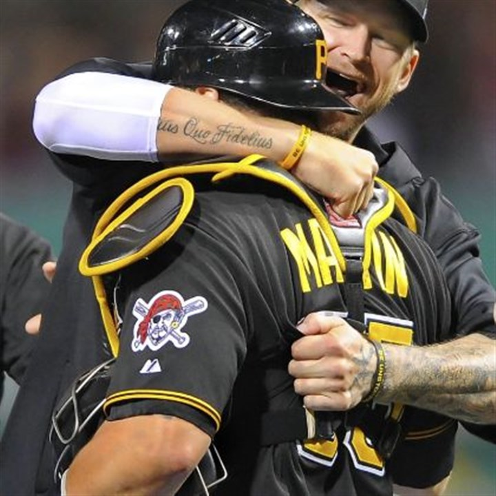 burnett The Pirates would like to retain A.J. Burnett, but his price tag could be too high. Veteran catcher Russell Martin will earn $8.5 million in 2014.