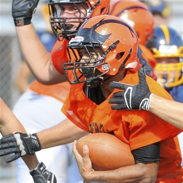 Damian Rawl Damian Rawl leads Beaver Falls in rushing with 829 yards and 12 touchdowns on 82 carries.