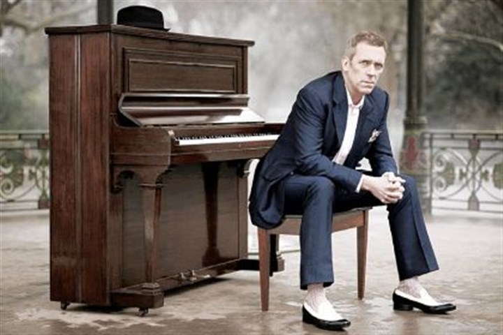 Hugh Laurie Hugh Laurie will perform tonight in Carnegie Library Music Hall in Munhall.