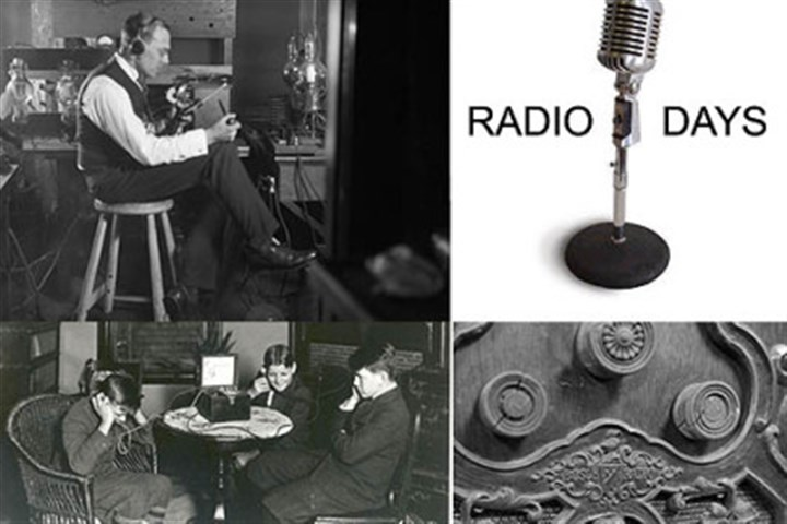Radio Days Radio broadcasts were launched in Pittsburgh.