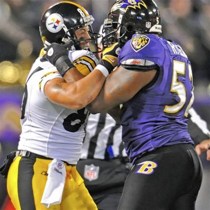 steelers Despite the Steelers' 1-4 record, fans should still expect to see plenty of this today against the Baltimore Ravens.