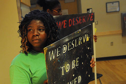 Pittsburgh Public Schools students rally for new student ...