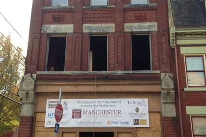 Portfolio Manchester This Columbus Avenue building in Manchester has a bright future again.