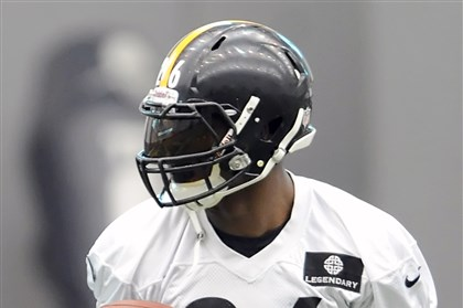 20131023mfsteelers6-5 Steelers rookie running back Le'Veon Bell had 13 carries for 24 yards against the Raiders.