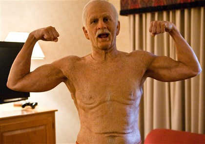 BAD GRANDPA Johnny Knoxville is Irving Zisman in 'Jackass Presents: Bad Grandpa.""