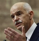 Former Greek Prime Minister George Papandreou.