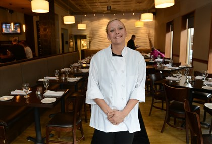 Bistro04-3 Executive chef Jessica Gibson Bauer.