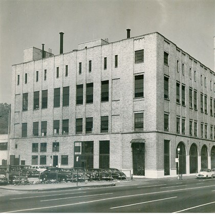 Press building The Pittsburgh Press building, circa 1956