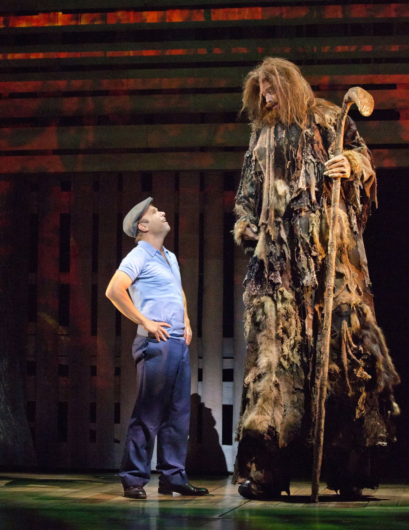 Broadway reviews 39 glass menagerie 39 still shattering and for Big fish broadway