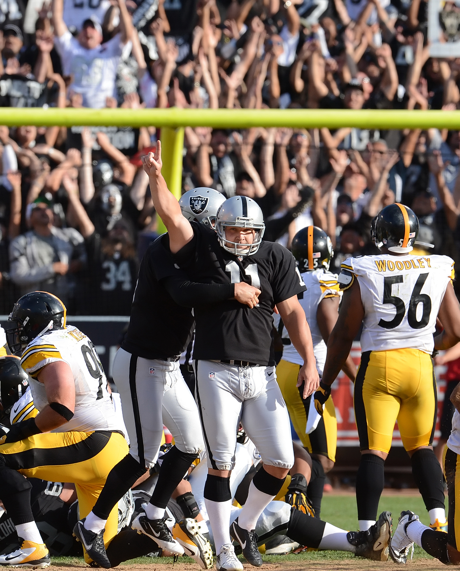 Game 7 matchup: Steelers vs. Raiders