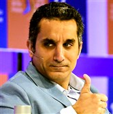 Egyptian satirist and television host Bassem Youssef