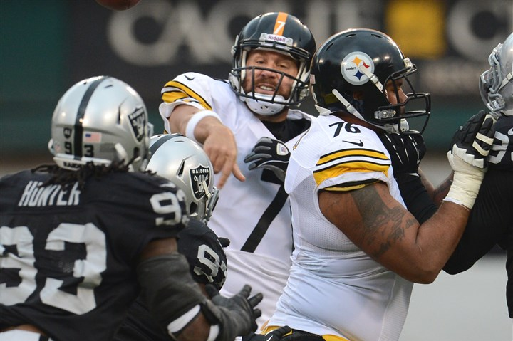 20131027pdSteelersSports17-12 Can the Steelers get back on track this weekend in New England? Gerry Dulac says probably not.