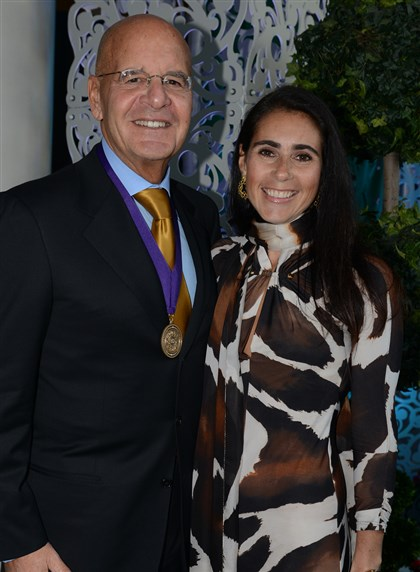 Romoff UPMC CEO Jeffrey and Stefania Romoff.
